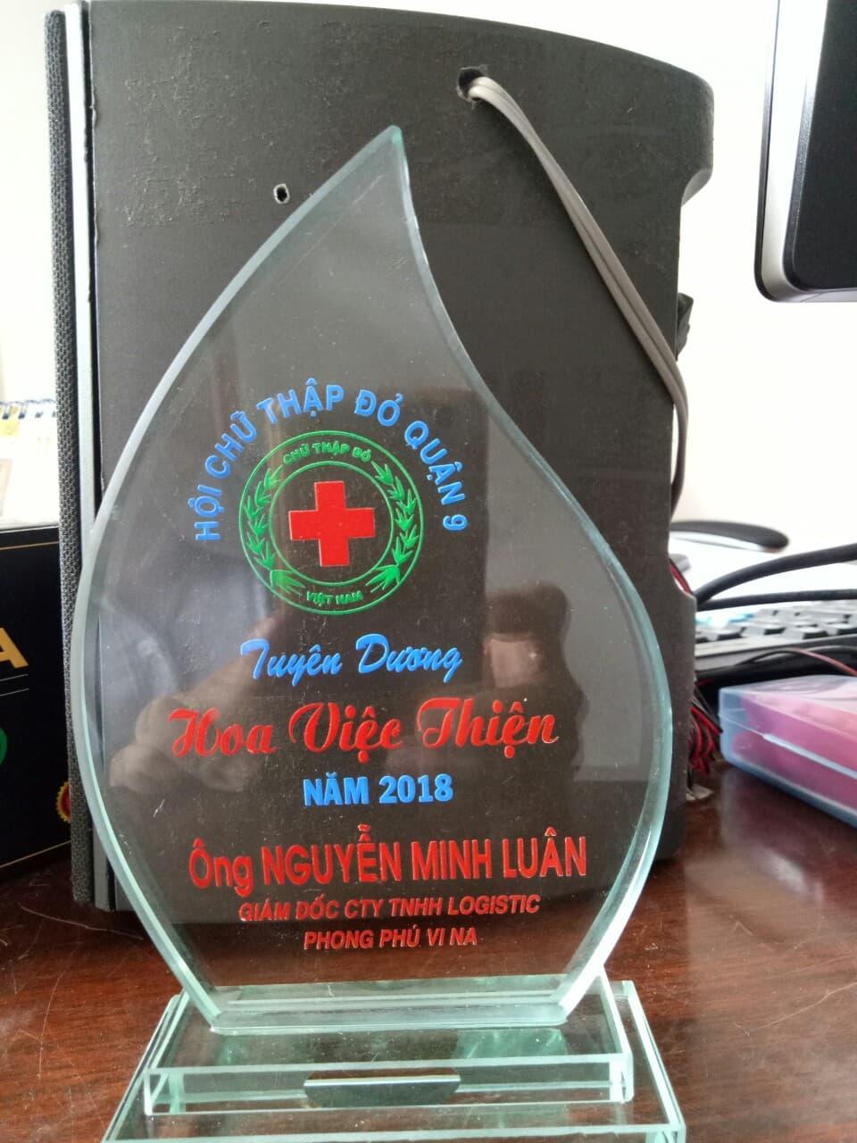 Cúp Hoa Việc Thiện Hội Chữ Tập Đỏ Quận 9
