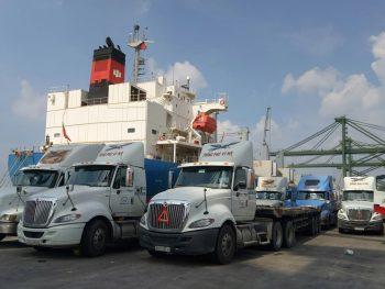 Giao Nhận Hàng Hóa Tàu Xe Logistics Phong Phú Vi Na